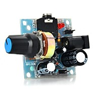386 mini audio-forstærker modul - lyseblå (5 ~ 12V)