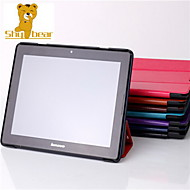 "Shy Bear™ Slim Smart Leather Tablet Cover Stand Case for Lenovo A10-70 A7600 10.1"" Inch"