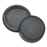 pajiatu® tapa de la lente trasera + cámara tapa del cuerpo para nikon d3100 d5100 d7000 d5000 d90 d80 d3 d2h d2x d200 d300 etc.