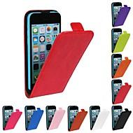 Carcasă Pro iPhone 5C / Apple Celý kryt Pevné PU kůže pro iPhone 5c