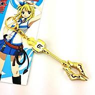 Biżuteria Zainspirowany przez Fairy Tail Cosplay Anime Akcesoria do Cosplay Naszyjniki Złoty Slitina Damskie