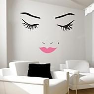 preiswerte -Menschen Stillleben Romantik Mode Formen Fantasie Wand-Sticker Flugzeug-Wand Sticker Dekorative Wand Sticker, Vinyl Haus Dekoration