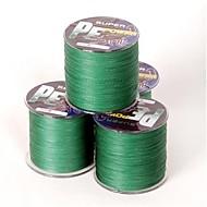 お買い得  釣り用アクセサリー-300M / 330ヤード PEライン / Dyneema 釣り糸 80LB 0.45 mm mm のために 海釣り / フライフィッシング / ベイトキャスティング / 穴釣り / スピニング