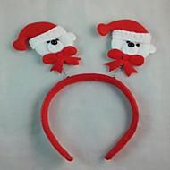クリスマスパーティーかわいいクマの帽子のヘアヘッドバンド