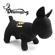 levne -droolingdog® pohodě FBI vzorem, 100% bavlna vesta pro domácí mazlíčky psy (žlutá / černá nejrůznější velikosti)