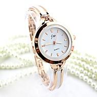 baratos Relógios em Oferta-Mulheres Bracele Relógio imitação de diamante Lega Banda Fashion / Rígida Prata / Dourada