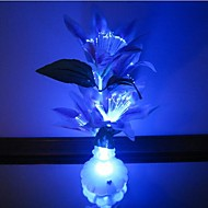Colorful Flowers Vase Optical Fiber Flowers LED Nigth Light