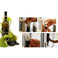 3 stuks milieubescherming rubber fles plug stof vacuüm (willekeurige kleur)