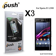 High Transparency HD LCD Screen Protector for Sony Z1 (3 Pieces)