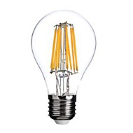 E26/E27 LED Filament Bulbs A60(A19) 8 COB 800lm Warm White 2800-3200K AC 220-240V