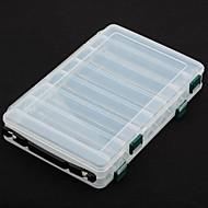 お買い得  釣り用アクセサリー-タックルボックス#*14.5 硬質プラスチック