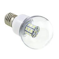 お買い得  LED ボール型電球-高輝度E27の5ワットの380lm-410lm 27x5730 SMDは明確なカバー白い暖かい白85V-265Vの交流で地球儀ランプを主導