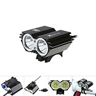 cheap Flashlights, Lanterns & Lights-Front Bike Light 5000Lm 2x CREE XM-L T6 LED Head Front Bicycle Lamp Headlamp Headlight
