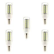 abordables BRELONG-5W 450-500 lm E14 Bombillas de Filamento LED 56 leds SMD 5730 Blanco Natural AC 220-240V