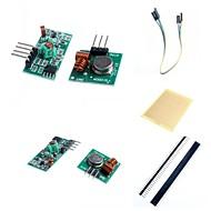 tanie Akcesoria Arduino-Moduł 433m superregeneration nadajnik bezprzewodowy (alarm) i moduł odbiornika akcesoria dla Arduino