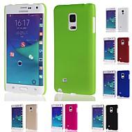 Case Kompatibilitás Samsung Galaxy Samsung Galaxy Note Other Hátlap Tömör szín PC mert Note Edge