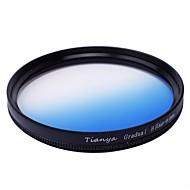 tianya® circular 52mm graduó filtro azul para Nikon D5200 D3100 D5100 D3200 lente 18-55mm