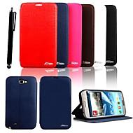 karzea® элегантный пу кожа полный кейс корпус с Стилус для Samsung Galaxy Примечание 2 N7100