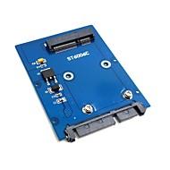 """Slim tyyppi mini PCI-e mSATA SSD 2.5 """"SATA 3,0 22pin HDD sovitin kiintolevylle pcba"""