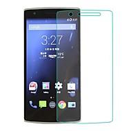 お買い得  スクリーンプロテクター-スクリーンプロテクター OnePlus のために One Plus 1 強化ガラス 1枚 ハイディフィニション(HD)