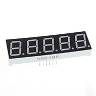 お買い得  Arduino 用アクセサリー-(Arduinoのための)互換性のある5桁のディスプレイモジュール -  0.56インチ