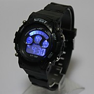 cheap Digital Watches-Kid's Fashion Watch Digital Watch Japanese Quartz Digital Black 30 m Casual Watch Digital Ladies Casual Cool - Black One Year Battery Life