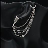 Muškarci Žene Uho Manžete Više slojeva Imitacija dijamanta Legura Jewelry Za Vjenčanje Party Dnevno Kauzalni Sport