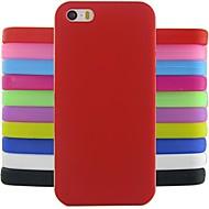 Недорогие Кейсы для iPhone 8-Кейс для Назначение iPhone 4/4S Apple iPhone X iPhone X iPhone 8 iPhone 8 Plus Кейс на заднюю панель Мягкий Силикон для iPhone X iPhone 8
