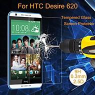 お買い得  スクリーンプロテクター-スクリーンプロテクター HTC のために 強化ガラス 1枚 ハイディフィニション(HD)