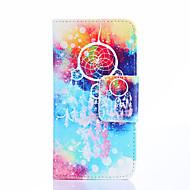 """Для Кейс для  Samsung Galaxy Кошелек / Бумажник для карт / со стендом / Флип / С узором Кейс для Чехол Кейс для Рисунок """"Ловец снов"""""""