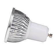 お買い得  LED スポットライト-4W GU10 LEDスポットライト 4 ハイパワーLED 400 lm 温白色 クールホワイト AC 85-265 V 1個