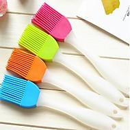 billige Dekorasjon til hjemmet-kreative hjem kjøkken silikon myk børste til å rense børsten (tilfeldig farge)