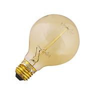 저렴한 -YouOKLight 41W 3200-3300 lm E26/E27 LED 글로브 전구 B 1 LED가 COB 장식 따뜻한 화이트 AC 110-130V AC 220-240V