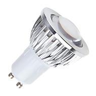GU10 LED Par Lights MR16 1 COB 450 lm Warm White Cold White Natural White K Dimmable AC 85-265 V