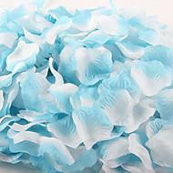 Dekoratif parti düğün için 100 adet degrade renk yapay yaprakları gül yaprakları
