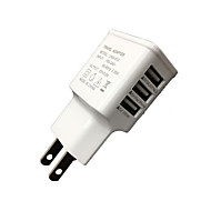 Cwxuan™ Universal EU Plug3-Port USB Charger iphone 8 7 Samsung S8 S7 6 6 Plus 5 5S S4 5 HTC LG