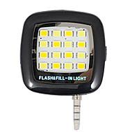 geleid smartphone flash Selfie vulling licht geleid mini spotlight voor iPhone iPad en Android-apparaten