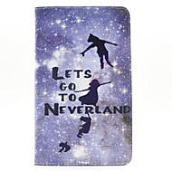 Для Кейс для  Samsung Galaxy Бумажник для карт / Кошелек / со стендом / Флип / С узором Кейс для Чехол Кейс для Слова / выражения