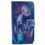 Mert Samsung Galaxy tok Pénztárca / Kártyatartó / Állvánnyal Case Teljes védelem Case Állat Kemény Műbőr SamsungS6 edge / S6 / S5 Mini /