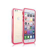 Недорогие Кейсы для iPhone 8-Кейс для Назначение iPhone 5 / Apple / iPhone X iPhone X / iPhone 8 / iPhone 8 Plus Прозрачный Бампер Однотонный Твердый ПК для iPhone X / iPhone 8 Pluss / iPhone 8