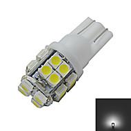 olcso Más LED fények-85 lm T10 Dekoratív 20 led SMD 3528 Hideg fehér DC 12V