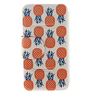 Для Samsung Galaxy Note Бумажник для карт / Кошелек / со стендом / Флип Кейс для Чехол Кейс для Фрукт Искусственная кожа SamsungNote 5