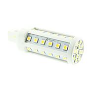 Χαμηλού Κόστους LED Λάμπες Καλαμπόκι-8w g24 οδήγησε φως καλαμποκιού t 48 smd 5060 550-600lm ζεστό λευκό κρύο λευκό 3000-3500k 6000-6500k διακοσμητικό ac 85-265v