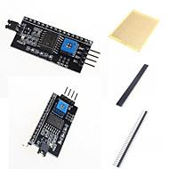 お買い得  Arduino 用アクセサリー-IIC / I2C /インタフェースアダプタボードlcd1602とアクセサリー