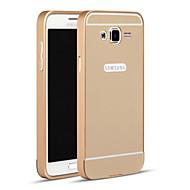 Varten Samsung Galaxy kotelo Other Etui Takakuori Etui Yksivärinen Metalli Samsung Grand Prime