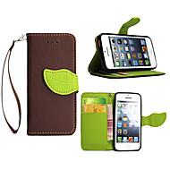 お買い得  -DE JI ケース 用途 Apple iPhone X / iPhone 8 Plus / iPhone 5ケース ウォレット / スタンド付き / フリップ フルボディーケース ソリッド ハード PUレザー のために iPhone X / iPhone 8 Plus / iPhone 8