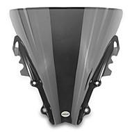 Недорогие Запчасти для мотоциклов и квадроциклов-мотоцикл лобовое стекло ветер щит экран черный для Yamaha R6 2006-2007