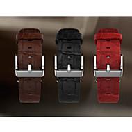Horlogeband voor appelhorloge 42mm leren horlogeband klassiek gesp