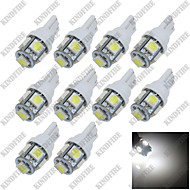 Недорогие Сигнальные огни для авто-SO.K 10 шт. T10 Автомобиль Лампы 10w SMD 5050 10 lm 5 Лампа поворотного сигнала For Универсальный