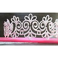 dentelle de fleur en forme de gâteau fondant au chocolat moule en silicone moule / décoration des outils pour la cuisine cuisson